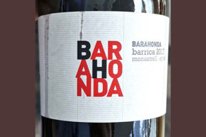 Barahonda Barrica Monastrell Syrah 2017 Красное сухое вино отзыв