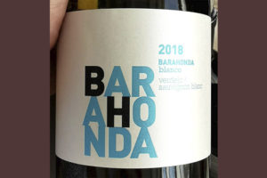 Barahonda blanco Verdejo Sauvignon Blanc 2018 Белое сухое вино отзыв