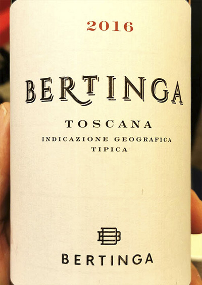 Bertinga rosso Bertinga Toscana 2016 Красное сухое вино отзыв