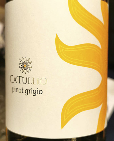 Ca'Tullio Pinot Grigio Friuli Colli Orientali 2019 Белое сухое вино отзыв