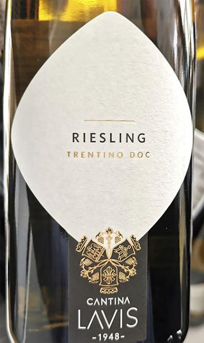 Cantina Lavis Riesling Trentino DOC 2019 Белое сухое вино отзыв
