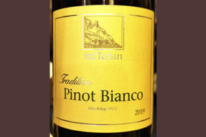 Cantina Terlan Pinot Bianco Tradition Alto Adige 2019 Белое сухое вино отзыв