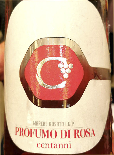 Centanni Profumo di Rosa Marche rosato 2020 Розовое сухое вино отзыв