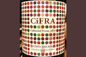 Costa Toscana CiFRA Cabernet Franc 2018 Красное сухое вино отзыв