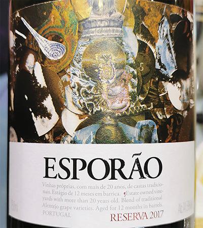 Esporao Reserva Tinto Portugal 2017 Красное сухое вино отзыв