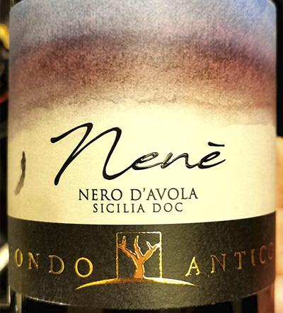 Fondo Antico Nene Nero d'Avola Sicilia 2018 Красное сухое вино отзыв