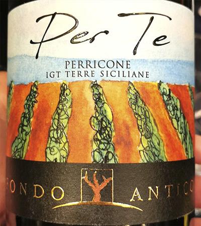 Fondo Antico Per Te Perricone Terre Siciliane 2019 Красное сухое вино отзывFondo Antico Per Te Perricone Terre Siciliane 2019 Красное сухое вино отзыв