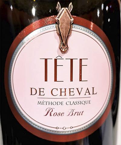 Golubitskoe Estate Tete de Cheval Rose Brut methode classique ЗГУ Розовое игристое вино брют отзыв