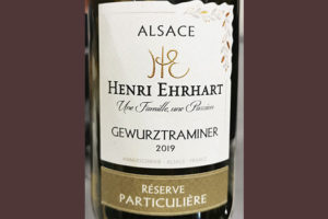 Henri Ehrhart Gewurztraminer Reserve Particuliere Alsace 2019 Белое сухое вино отзыв