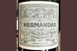 Hermandad Chardonnay Mendoza Argentina 2018 Белое сухое вино отзыв