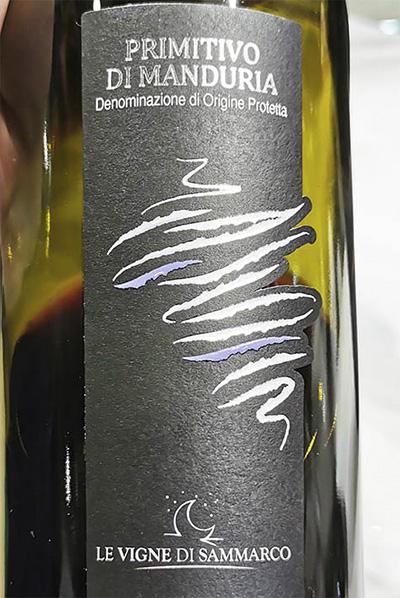 Le Vigne di Sammarco Primitivo di Manduria 2018 Красное сухое вино отзыв