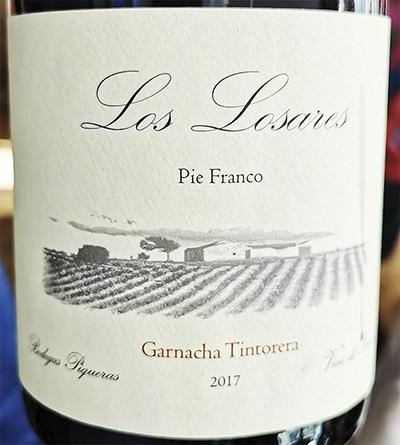 Los Laseras Garnacha Tintorera Pie Franco DO Almansa 2017 Красное сухое вино отзыв