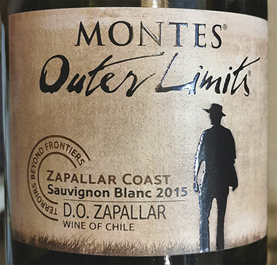 Montes Outer Limits Zapallar Coast Sauvignon Blanc 2015 Белое сухое вино отзыв