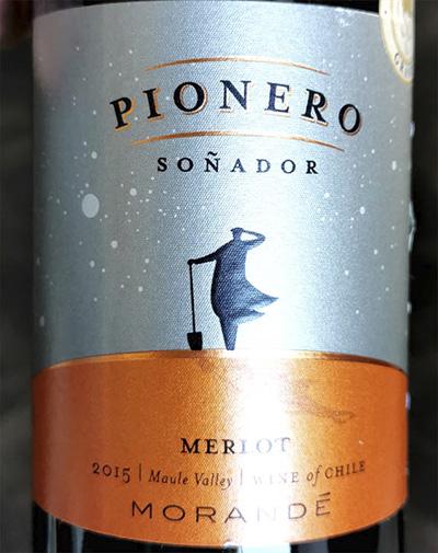 Morande Pionero Merlot Sonador 2015 Красное сухое вино отзыв