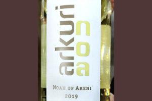 Noah of Areni Arkuri Noa white dry 2019 Белое сухое вино отзыв