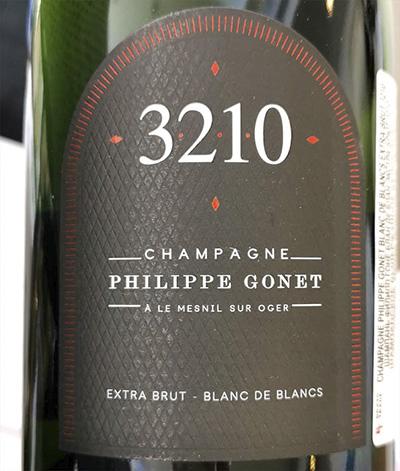Philippe Gonet 3210 Blanc de Blancs Champagne extra brut 2019 Белое шампанское вино экстра брют отзыв