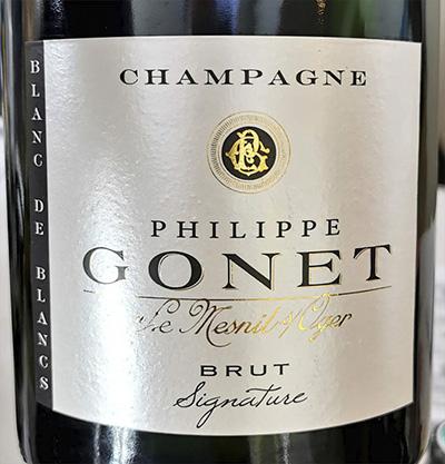 Philippe Gonet Champagne Le Mesnil's Oger Blanc de Blancs Brut Signature Белое шампанское вино брют отзыв