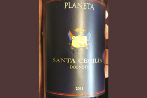Planeta Santa Cecilia DOC Noto 2011 Красное сухое вино отзыв