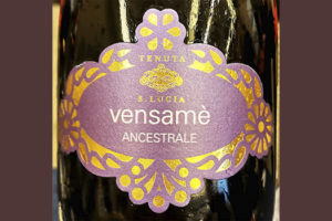 Tenuta Santa Lucia Vensame Ansestrale 2019 Розовое игристое вино экстра брют отзыв