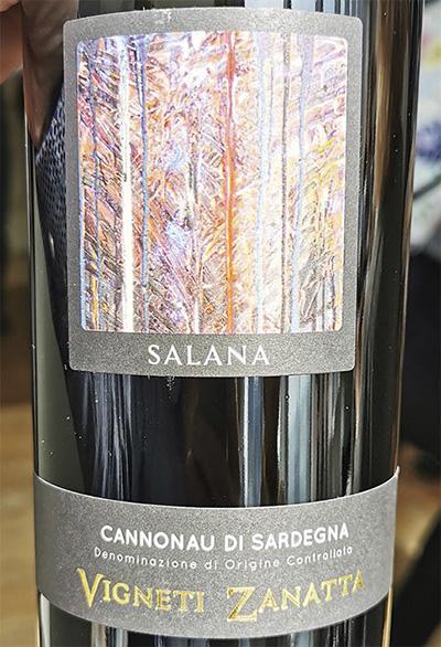 Vigneti Zanatta Salana Canonau di Sardegna 2019 Красное сухое вино отзыв