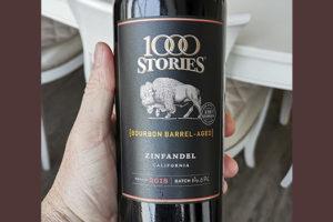 Дегустируем Зинфандель 1000 Stories Zinfandel Bourbon Barrel Aged California 2018 от Fetzer Vineyards