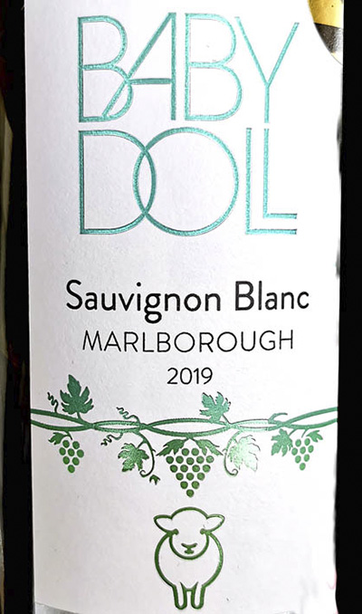 Baby Doll Sauvignon Blanc Marlboro New Zealand 2019 Белое сухое вино отзыв