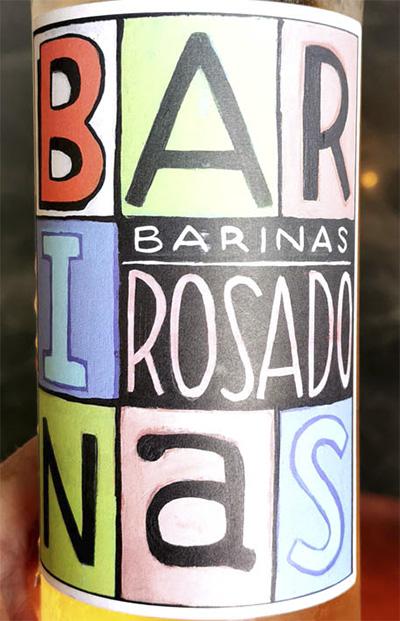 Barinas Rosado 2019 Розовое сухое вино отзыв