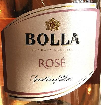 Bolla Rose Sparkling Wine extra dry Розовое игристое вино экстра сухое отзыв