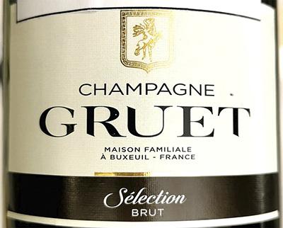 Champagne Gruet Seleccion Brut 2018 Белое шампанское вино отзыв