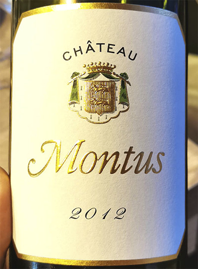 Chateau Montus Blanc 2012 Белое сухое вино отзыв