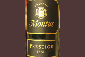 Chateau Montus Prestige rouge 2002 Красное сухое вино отзыв