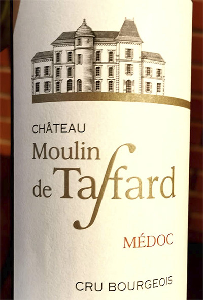 Chateau Moulin de Taffard Medoc Cru Bourgeois 2017 Красное сухое вино отзыв