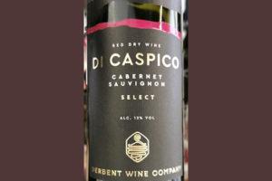 Derbent Wine Company Di Caspico Cabernet Sauvignon Select 2018 Красное сухое вино отзыв