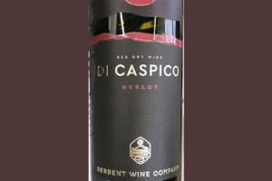 Derbent Wine Company Di Caspico Merlot 2019 Красное сухое вино отзыв