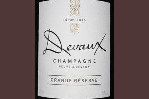 Devaux Champagne Grande Reserve Brut Белое шампанское брют отзыв