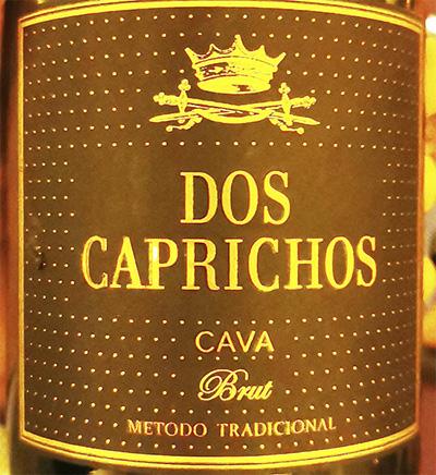 Dos Caprichos Cava Brut Metodo Tradicional 2018 Белое игристое вино экстра брют отзыв
