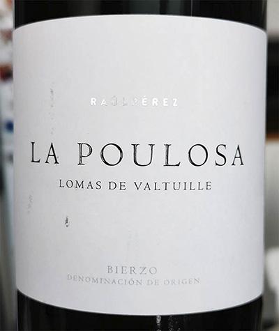 La Vizcaína La Poulosa Lomas de Valtuille Bierzo 2018 Красное сухое вино отзыв
