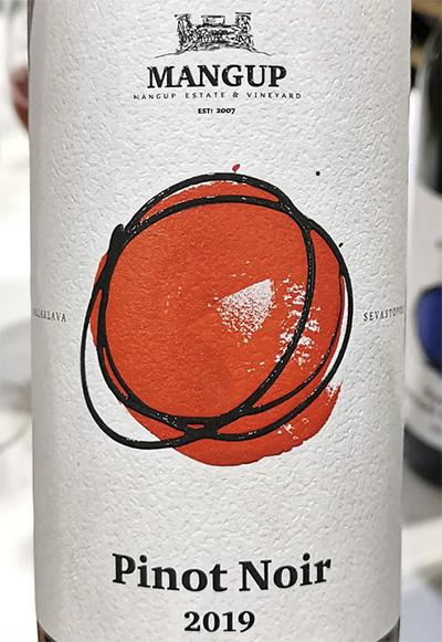 Mangup Estate Vineyard Pinot Noir 2019 Красное сухое вино отзыв
