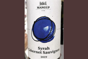 Mangup Estate Vineyard Syrah Cabernet Sauvignon 2019 Красное сухое вино отзыв