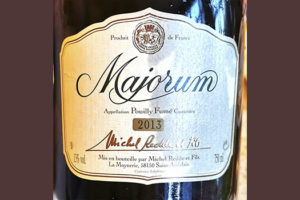 Michel Redde et Fils Majorum Pouilly Fume 2013 Белое сухое вино отзыв
