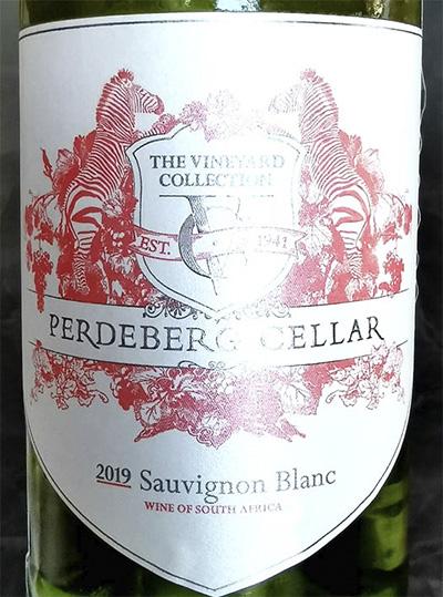 Perdeberg Cellar Sauvignon Blanc The Vineyard Collection 2019 Белое сухое вино отзыв