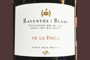 Raventos i Blanc De La Finca Vinya dels Fossils 2015 Белое игристое вино экстра брют отзыв