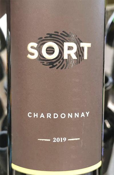 SORT Chardonnay 2019 Белое сухое вино отзыв