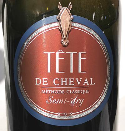 Tete de Cheval semi-dry Methode Classique 2017 Белое игристое полусухое вино отзыв
