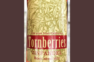Tornberries Zinfandel Rose semi-dry 2019 Розовое полусухое вино отзыв