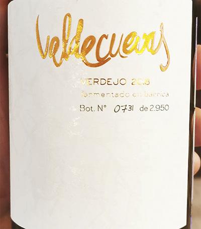 Valdecuevas Verdejo Fermentado an Barrica 2018 Белое сухое вино отзыв