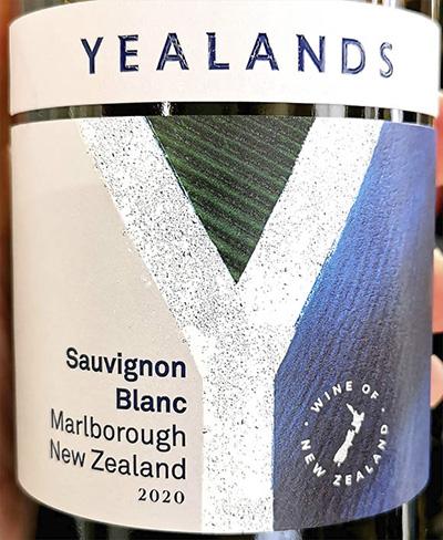 Yealands Sauvignon Blanc Marlboro New Zealand 2020 Белое сухое вино отзыв