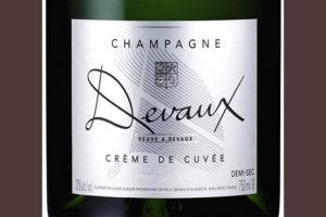 Devaux Champagne Creme de Cuvee Белое шампанское полусухое отзыв