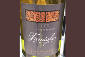 Famiglia Bianchi Chardonnay Family Winemaking 2016 Белое сухое вино отзыв