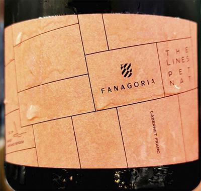 Fanagoria The Lines Pet Nat Cabernet Franc 2020 Игристое розовое брют Отзыв